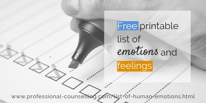 Relationships Matter  Sep 13, List of human emotions and feelings. Feelings chart free to download