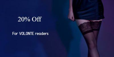 Blog LELO NEWSWIRE  20% OFF For VOLONTE Readers