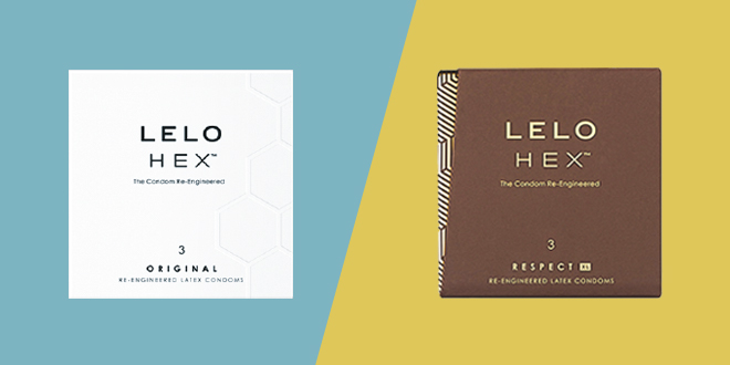 Blog Condom HEX Product Comparison Review Sex Toy Reviews  How To Choose Between HEX™ vs HEX Respect XL™ LELO Condoms