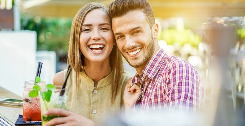 Relationships - Flirting  What To Say On A First Date to Keep It Light, Easy and Flirtatious