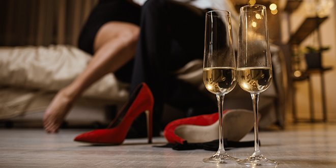Blog Holidays Sex Tips & Advice  How to Have a Sexy New Year's Eve that Doesn't Suck